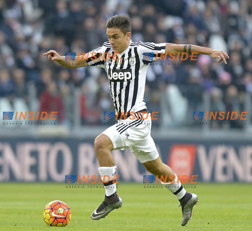 Paulo Dybala Juventus,<br /> Torino 06-01-2016, Juventus Stadium, Football Calcio 2015/2016 Serie A, Juventus - Verona, Foto Filippo Alfero/Insidefoto
