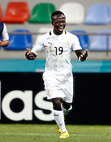 Ghana's Moses Odjer celebrate his goal during their FIFA U-20 World Cup Turkey 2013 Group Stage Group A soccer match Ghana betwen USA at the Photo by Aykut AKICI/isiphotos.com
