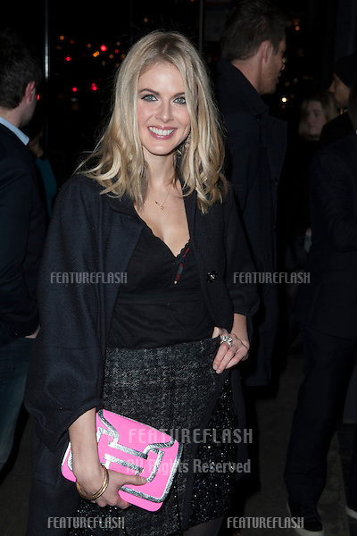 Donna Air arriving for the launch party for new adult soft drink ZEO.Buddah Bar  Knightsbridge, London. 31/01/2013 Simon Burchell / Featureflash