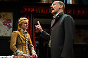 """""""In the Next Room' or """"The Vibrator Play"""" has its UK premiere at the Ustinov Studio Theatre, Bath. Picture shows: Katie Lightfoot (Catherine Givings) and Paul Hickey (Dr Givings)."""