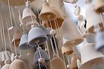Decorative ceramic bells wind chime