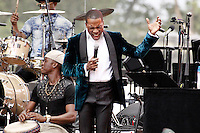 PHILADELPHIA, PA - JULY 4 :  Leslie Odom Jr pictured performing at Wawa Welcome America concert on the Parkway in Philadelphia, Pa on July 4, 2016  photo credit Star Shooter / MediaPunch