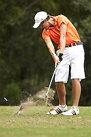SAN ANTONIO, TX - OCTOBER 16, 2012: The University of Texas at San Antonio Roadrunners host the Lone Star Invitational Golf Tournament at the Hyatt Hill Country Resort. (Photo by Jeff Huehn)