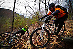 Bays Mountain Backcountry, riders Damon Bell and Anthony Duncan