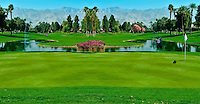 Golf Course, Green, Fairway, Flag, cart stuck in water, CGI Panorama, greens, grass roughs, water hazards, flagsticks, pins, carts and tees
