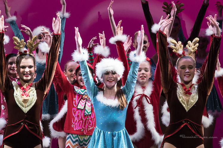 """3D Project Jazz Company, Performance, """"All Wrapped Up"""", Cary Arts Center, Saturday, 2 PM, 21 Dec 2013."""