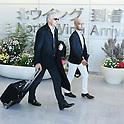 New Japan Coach Vahid Halilhodzic arrives to Narita Airport