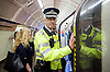 Sadia Khan at London&rsquo;s Night Tube launch at Brixton tube station, London, Great Britain <br /> 19th August 2016 <br /> <br /> British Transport Police Chief Constable Paul Crowther, OBE<br /> <br /> <br /> <br /> Sadia Khan, mayor of London,  launched the first night tube service and travelled on a tube train between Brixton and Walthamstow on the Victoria Line. <br />  <br /> He launched the first 24 hour Friday and Saturday night services on the Central and Victoria lines <br /> <br /> Photograph by Elliott Franks <br /> Image licensed to Elliott Franks Photography Services
