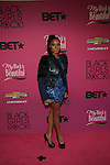 """BET Music Matters' Noni Attends """"BLACK GIRLS ROCK!"""" Honoring legendary singer Patti Labelle (Living Legend Award), hip-hop pioneer Queen Latifah (Rock Star Award), esteemed writer and producer Mara Brock Akil (Shot Caller Award), tennis icon and entrepreneur Venus Williams (Star Power Award celebrated by Chevy), community organizer Ameena Matthews (Community Activist Award), ground-breaking ballet dancer Misty Copeland (Young, Gifted & Black Award), and children's rights activist Marian Wright Edelman (Social Humanitarian Award) Hosted By Tracee Ellis Ross and Regina King Held at NJ PAC, NJ"""