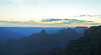 VIEW FROM CAPE ROYAL, NORTH RIM, GRAND CANYON, ARIZONA, Panorama