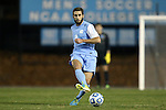 21 November 2013: North Carolina's Jonathan Campbell. The University of North Carolina Tar Heels hosted the University of South Florida Bulls at Fetzer Field in Chapel Hill, NC in a 2013 NCAA Division I Men's Soccer Tournament First Round match. North Carolina won the game 1-0.