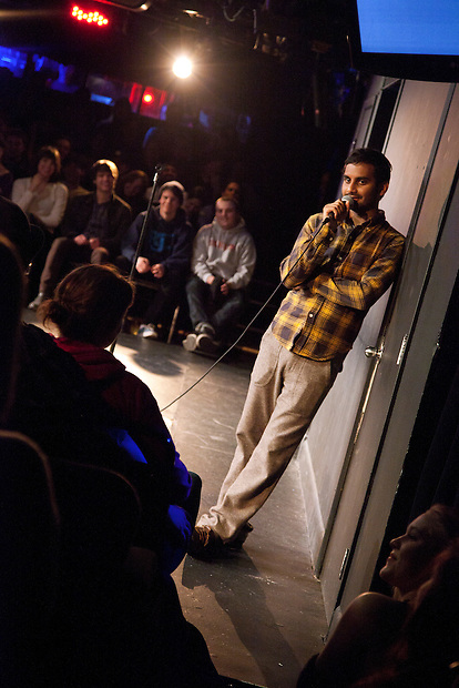 Whiplash at UCB Theater, New York - March 7, 2011 - Aziz Ansari