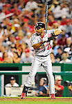 28 August 2010: St. Louis Cardinals outfielder Randy Winn in action against the Washington Nationals at Nationals Park in Washington, DC. The Nationals defeated the Cards 14-5 to take the third game of their 4-game series. Mandatory Credit: Ed Wolfstein Photo