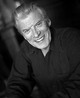 Veteran Cowboy Actor Peter Breck in Los Angeles 2000