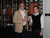 L-R: Johan Loubser (GM Steenberg Vineyards), Jurgen Welp (Front of House Managers)