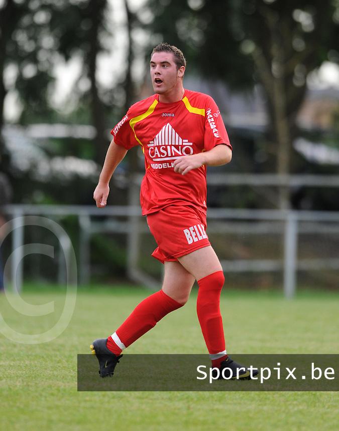 SK Spermalie : Jason Vandecasteele.foto VDB / BART VANDENBROUCKE