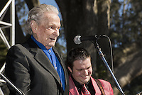 Ralph Stanley photographed at Hardly Strictly Bluegrass Festival in Golden Gate Park in San Francisco, CA October 5, 2014 © Jay Blakesberg/MediaPunch