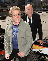 The Who press conference for the 2009 Australian Grand Prix