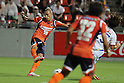 Rafael (Ardija), AUGUST 7, 2011 - Football / Soccer : Rafael of Omiya Ardija scores the opening goal during the 2011 J.League Division 1 match between Omiya Ardija 2-2 Vegalta Sendai at NACK5 Stadium Omiya in Saitama, Japan. (Photo by Hiroyuki Sato/AFLO)