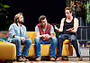 The Motherfucker With the Hat <br /> by Stephen Adly Guirgis <br /> directed by Indu Rubasingham <br /> at the Lyttelton Theatre, National Theatre, London, Great Britain <br /> press photocall <br /> 15th June 2015 <br /> <br /> Flor De Liz Perez as Veronica<br /> <br /> Ricardo Chavira as Jackie <br /> <br /> Nathalie Armin as Victoria <br /> <br /> Yul Vazquez as Julio <br /> <br /> Alex Newman as Ralph <br /> <br /> <br /> <br /> <br /> Photograph by Elliott Franks <br /> Image licensed to Elliott Franks Photography Services