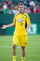 Columbus Crew defender Chad Marshall (14)