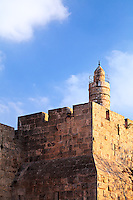 The Citadel of David in Jerusalem's Old City.