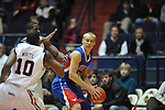 Ole Miss vs. SMU's Aliaksei Patsevich (13) at the C.M. &quot;Tad&quot; Smith Coliseum in Oxford, Miss. on Tuesday, January 3, 2012. Ole Miss won 50-48.