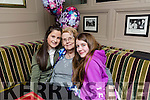 nuala Slone celebrates, Mitchels Town, her 77th Birthday with grandaughters Cara Surgey, Left and Tara Kelly, Right at the Brogue Inn on Saturday