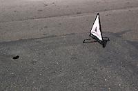 Cattiva manutenzione stradale. Poor road maintenance....