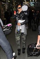 Alicia Keys seen arriving in London_kdn