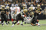 New Orleans Saints vs. New York Giants at the Superdome in New Orleans, La. on Monday, November 28, 2011. New Orleans won 49-24.
