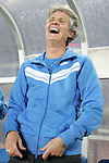 21 August 2008: United States head coach Pia Sundhage (SWE) has a pregame laugh. The United States Women's National Team defeated Brazil's Women's National Team 1-0 after extra time at the Worker's Stadium in Beijing, China in the Gold Medal match in the Women's Olympic Football tournament.