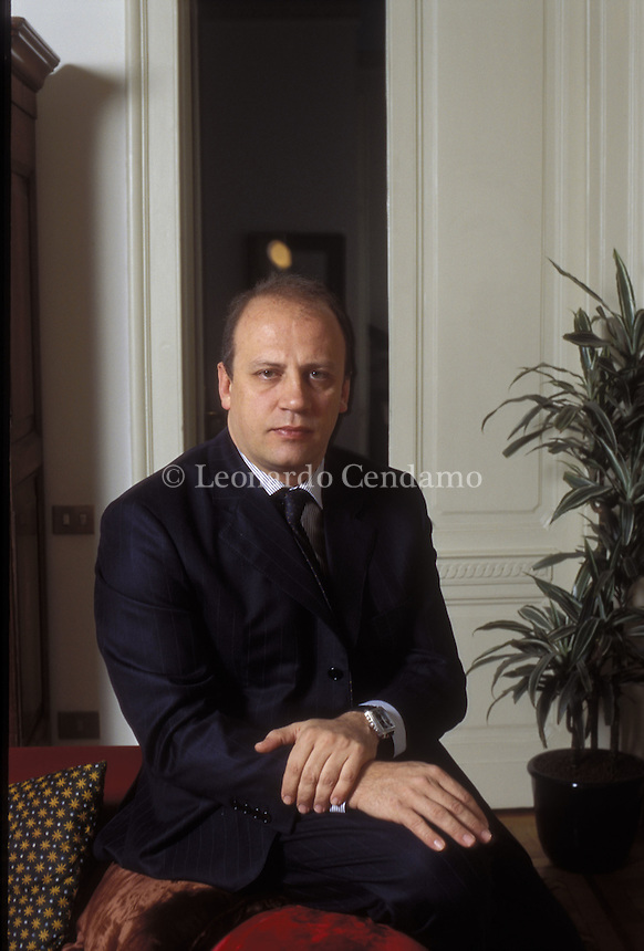 STEFANO MAURI, EDITORE GARZANTI, AMM. DELEGATO GRUPPO LONGANESI  © Leonardo Cendamo