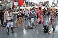 NEW YORK, NY - OCTOBER 7: Cosplayers at New York Comic-Con at Jacob Javits Center  in New York, New York on October 7, 2016.  Photo Credit: Rainmaker Photo/MediaPunch