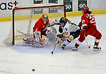 25 October 2008: University of Vermont Catamount forward Kyleigh Palmer, a Freshman from Winnipeg, Manitoba, in action against the Cornell University Big Red at Gutterson Fieldhouse, in Burlington, Vermont. The Big Red defeated the Catamounts 5-1 to sweep their 2-game series in Vermont...Mandatory Photo Credit: Ed Wolfstein Photo