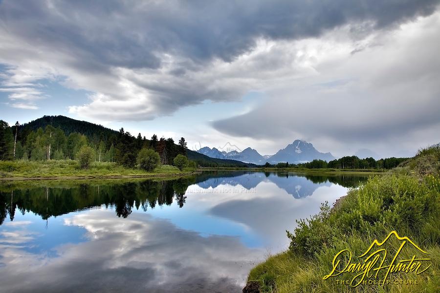 Angry Sky, Oxbow Bend, Grand Teton National Park
