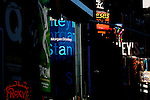 Morgan Stanley in New York's Tiimes Square, Sat. Oct. 02, 2006.