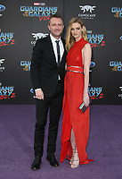 """HOLLYWOOD, CA - April 19: Chris Hardwick, Lydia Hearst, At Premiere Of Disney And Marvel's """"Guardians Of The Galaxy Vol. 2"""" At The Dolby Theatre  In California on April 19, 2017. Credit: FS/MediaPunch"""