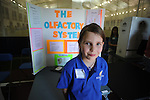 Della Davidson student Emma Herbst at a science fair at Ole Miss' IPF in Oxford, Miss. on Wednesday, March 24, 2010. Ole Miss won 90-87 in triple overtime.