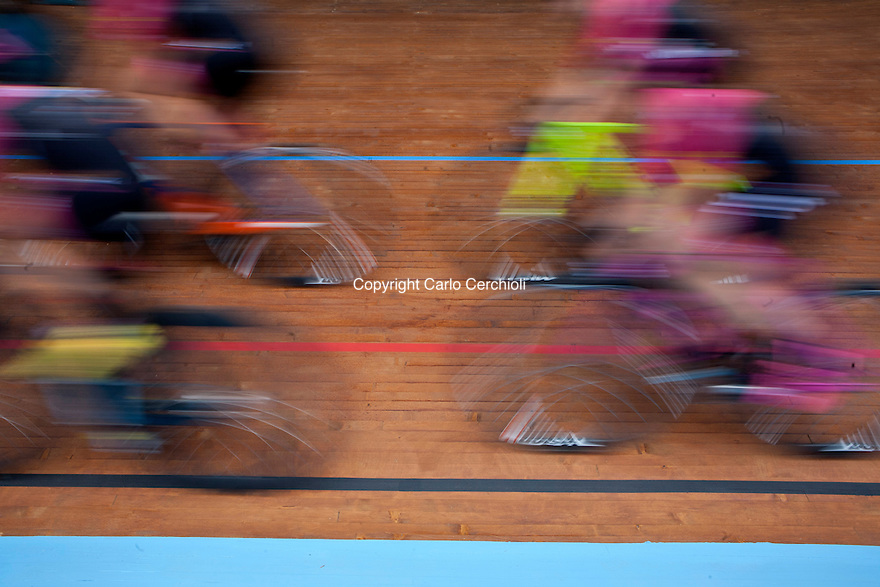 Vigorelli Velodrome Testing Cycling Track