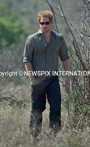 02.12.2015;Kruger, South Africa: PRINCE HARRY<br />