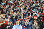 Ole Miss football fans watch a 3D 90 second clip during halftime against Auburn at Vaught-Hemingway Stadium in Oxford, Miss. on Saturday, October 30, 2010. Auburn won 51-31.