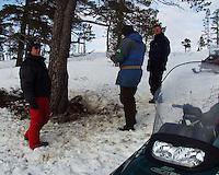 Southsami reindeer herding in Mid-Norway. Undersøkelse av reinkadaver, Statens Naturoppsyn (SNO). Luru reinbeitedistrikt (Låarte), Snåsa.