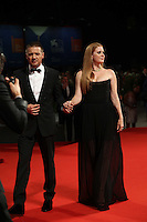 VENICE, ITALY - SEPTEMBER 01: Jeremy Renner and Amy Adams at the premiere of 'Arrival' during the 73rd Venice Film Festival at Sala Grande on September 1, 2016 in Venice, Italy.<br /> CAP/GOL<br /> &copy;GOL/Capital Pictures /MediaPunch ***NORTH AND SOUTH AMERICAS ONLY***