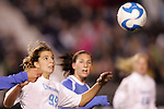 05 December 2008: North Carolina's Tobin Heath (98). The University of North Carolina Tar Heels defeated the University of California Los Angeles Bruins 1-0 at WakeMed Soccer Park in Cary, NC in an NCAA Division I Women's College Cup semifinal game.