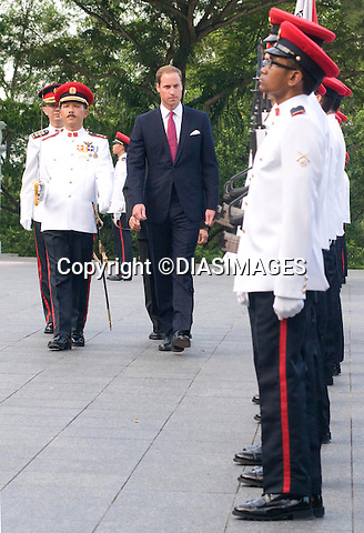"""CATHERINE, DUCHESS OF CAMBRIDGE AND PRINCE WILLIAM.call on the President of Singapore, during which time the Prince inspected a Guard of Honour, Istana_11/09/2012.Mandatory credit photo: ©Dias/DIASIMAGES/NEWSPIX INTERNATIONAL..(Failure to credit will incur a surcharge of 100% of reproduction fees)..                **ALL FEES PAYABLE TO: """"NEWSPIX INTERNATIONAL""""**..IMMEDIATE CONFIRMATION OF USAGE REQUIRED:.DiasImages, 31a Chinnery Hill, Bishop's Stortford, ENGLAND CM23 3PS.Tel:+441279 324672  ; Fax: +441279656877.Mobile:  07775681153.e-mail: info@newspixinternational.co.uk"""