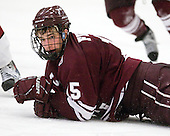 Matt Firman (Colgate - 15) - The Harvard University Crimson defeated the visiting Colgate University Raiders 6-2 (2 EN) on Friday, January 28, 2011, at Bright Hockey Center in Cambridge, Massachusetts.