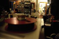 Debbie Neigher at Tiny Telephone Recording Studio