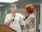 Stephanie Edwards and Ed Arnold at a WomanSage event on 6/3/06