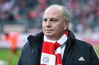 FUSSBALL   1. BUNDESLIGA  SAISON 2012/2013   13. Spieltag FC Bayern Muenchen - Hannover 96     24.11.2012 Praesident Uli Hoeness (FC Bayern Muenchen)
